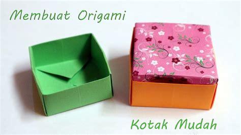 cara membuat origami kotak cara membuat origami kotak sederhana origami kotak box