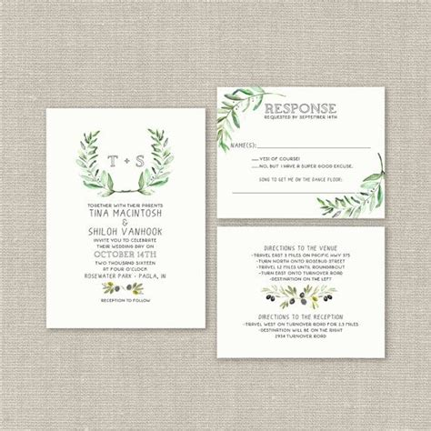 boho chic wedding invites boho chic wedding invitation suite country wedding