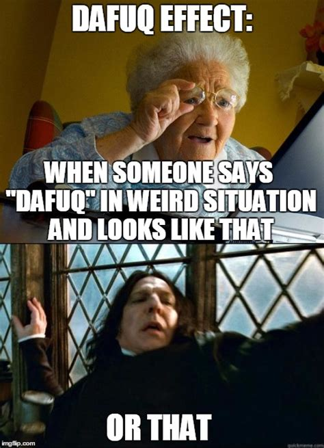 Dafuq Meme - snape meme dafuq www pixshark com images galleries