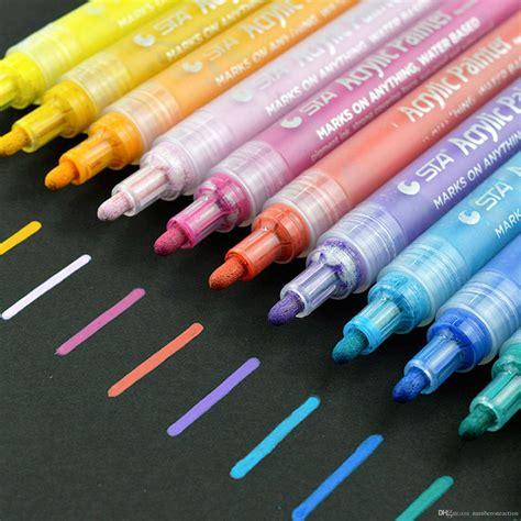 color marker pens 2019 acrylic paint marker pens permanent paint pen