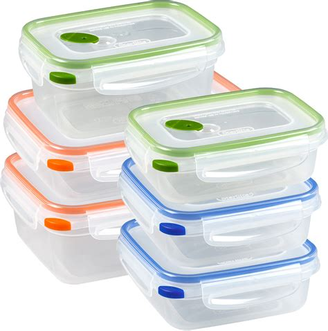 food bin sterilite food storage containers ultra seal set of 6 in plastic food containers