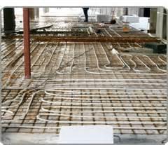 radiant floor heating types options in radiant heating