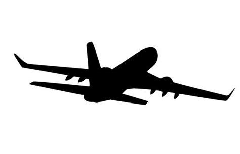 airplane silhouette clip airplane silhouette vector silhouette clip general