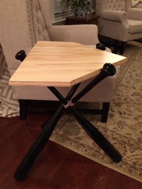 Baseball Bat End Table Wood Table Bat Table By