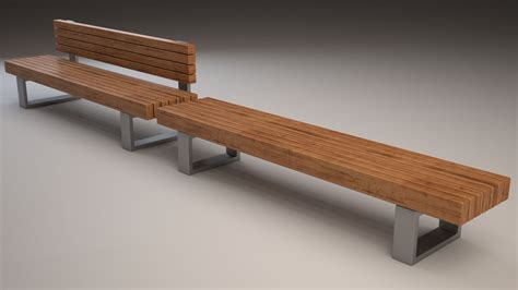 hot bench definition bench 501 3d model max obj 3ds fbx cgtrader com