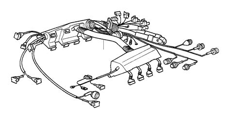 12511702852 bmw 7 series engine wiring harness dme egs