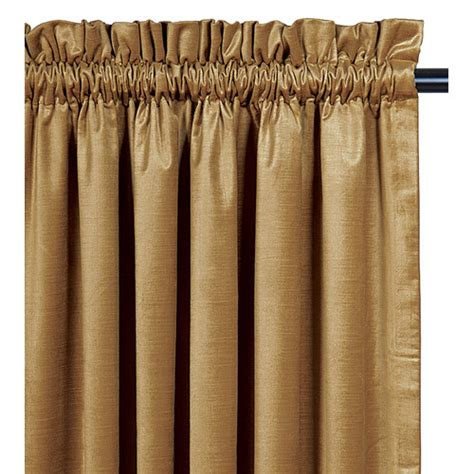 pocket curtain rod lucerne cotton rod pocket curtain panel wayfair