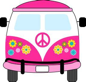 volkswagen hippie clipart dibujos clipart digi sts hippie pink car