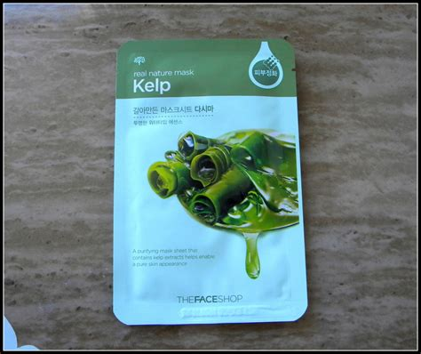 The Shop Real Nature Mask New Design X 12 Ea review the shop kelp real nature mask