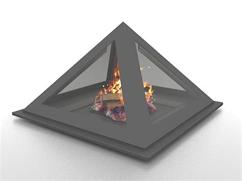 cone shaped fireplace 3d model 3ds max files free