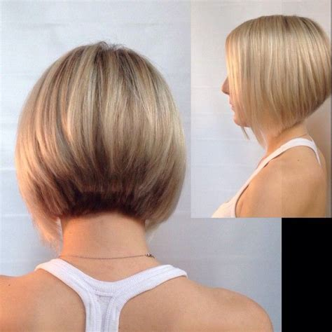 diy stacked bob inverted bob with stacked back quot instagram photo by