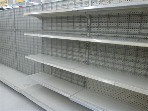 empty shelves at walmart random retail flickr