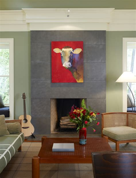 cow room decor cow paintings canvas decorating ideas gallery in dining room midcentury design ideas