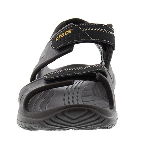 mens crocs sandals crocs swiftwater river s sandal ebay