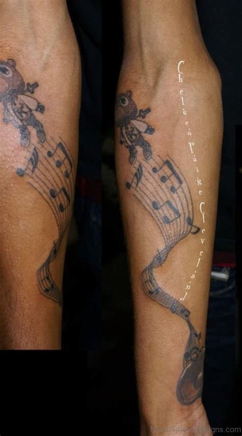 tattoo left arm 92 nice music tattoos