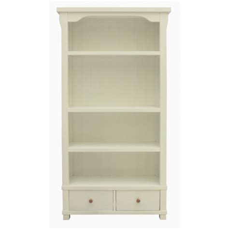 Hton White Painted Bookcase With Drawers White Painted Bookcase
