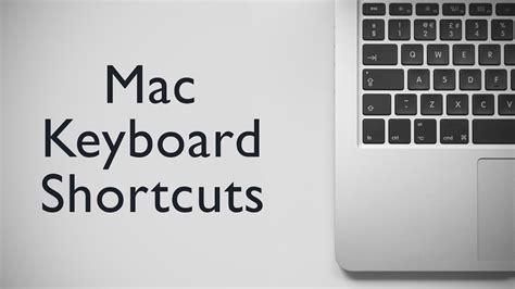 20 cool mac keyboard shortcuts you must