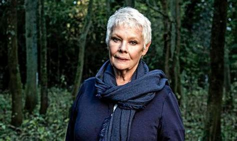 bitcoin judi dame judi dench lets us into her special woodland in new