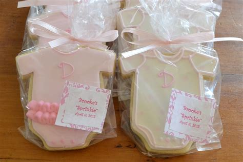jackandy cookies baby shower cookie favors