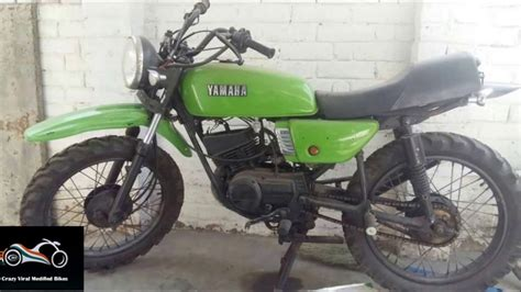 Rx100 Modified Bikes by Yamaha Rx100 Rxz Green Modified Bike