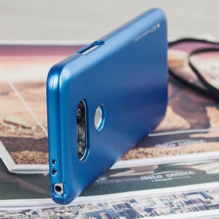 Lg G5 Jelly Goospery Soft New Cover Blue mercury goospery ijelly lg g5 gel metallic blue