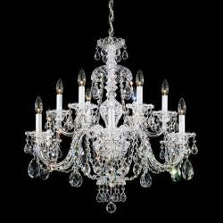 traditional chandeliers schonbek sterling collection 12 light chandelier