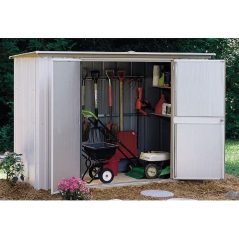 3 X 8 Shed by Arrow 8x3 Garden Shed Kit Gs83