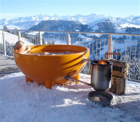 wood burning bathtub wood burning hot tub