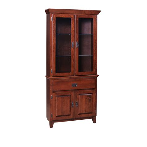 mission corner cabinet home envy furnishings solid wood