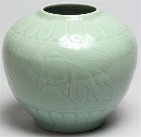 ginger jar vase chinese celadon ginger jar vase