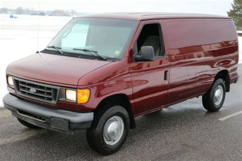how cars run 1998 ford econoline e350 transmission control 2004 ford econoline e350 cargo van for sale rare crew runs great ready 2 work