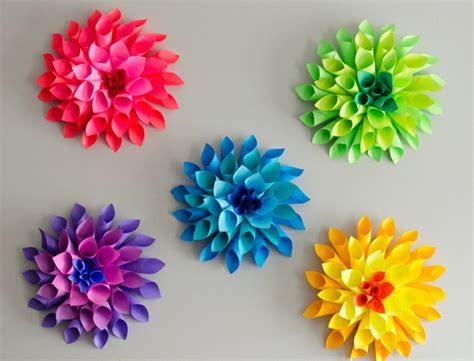 Blumen Zum Basteln papierblumen basteln mit kindern sch 246 ne ideen und