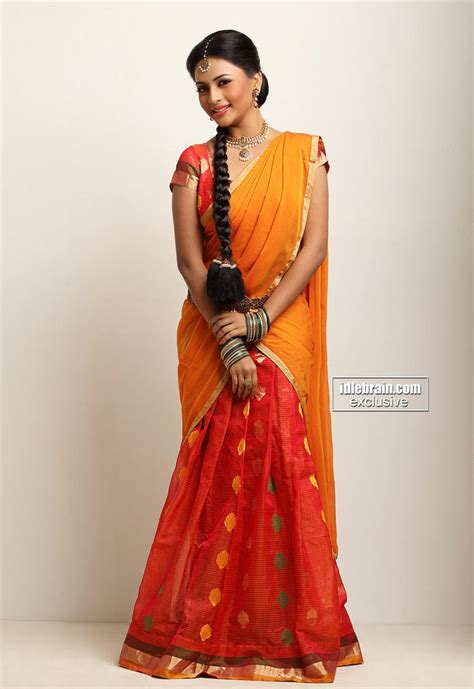South Indian Wardrobe by South Indian Half Saree Indian Styles Half