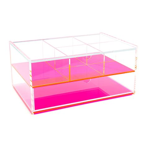 Acrylic Box buy lund flash blocco acrylic box neon pink amara