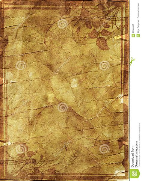 grunge floral parchment frame royalty free stock photos image 8762458 floral grunge frame on parchment paper with floral patt royalty free stock photography