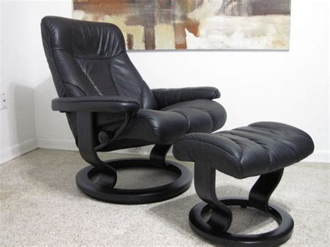 ekornes stressless recliner lounge chair modern