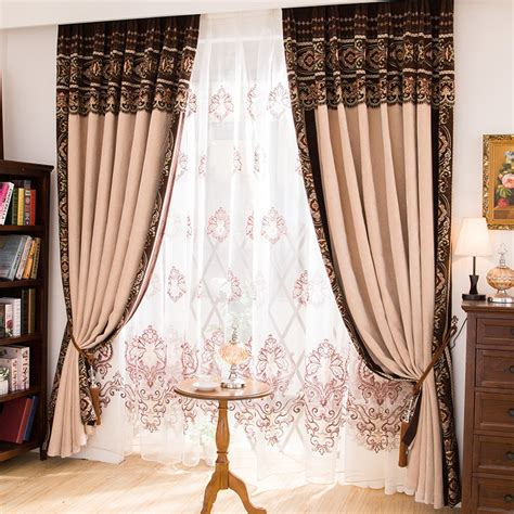 fancy curtains for home luxury curtains free shipping the classical european