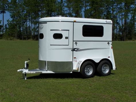 Horse Saddle by 2 Horse Super Bee Walk Thru Trailer Bee Horse Trailers