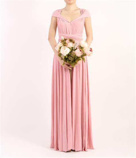 light pink long dress light pink long dress pink infinity dress evening dresses