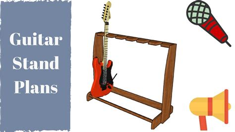 guitar stand plans youtube
