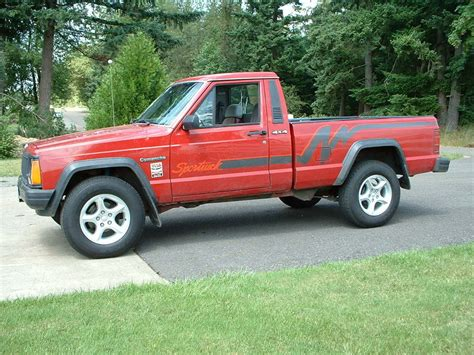 jeep comanche relixracing 1991 jeep comanche regular cab specs photos