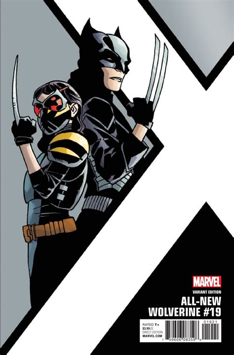 All New exclusive preview all new wolverine 19 comic vine