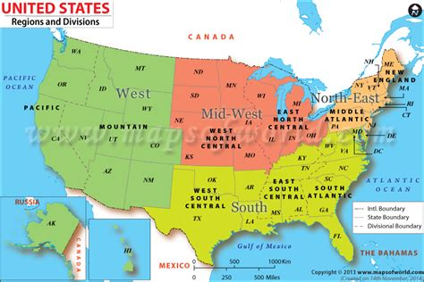 map of the united states broken down into regions as a californian who recently moved to the south am i