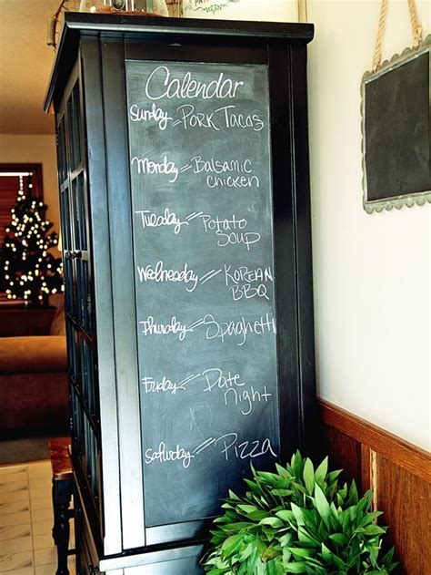 chalkboard paint ideas for the kitchen