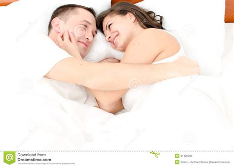 how to be good in bed for women young man and woman stock photography image 31425032