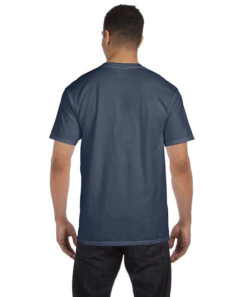 comfort colors pocket t comfort colors 6 1 oz garment dyed pocket t shirt s 3xl m