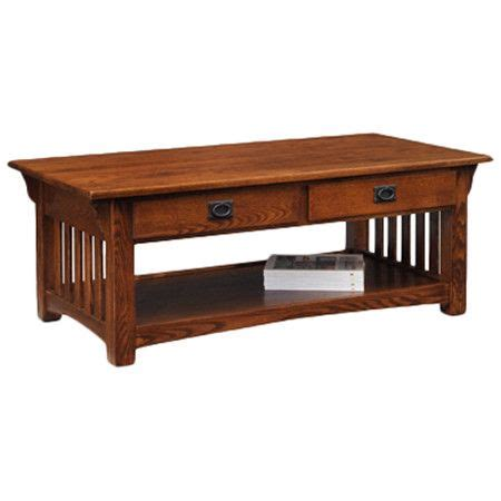 mission coffee table for the home