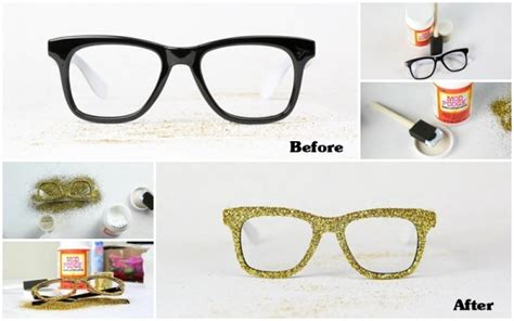 Diy Glasses how to make diy glitter glasses frames how to