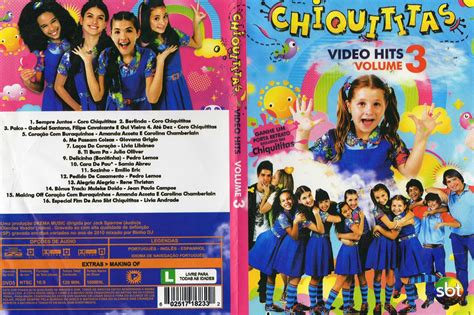 three hits chiquititas hits vol 3 dvd r