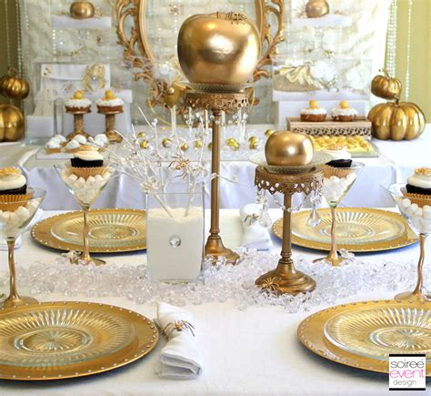 white and gold table decorations 2017 2018 - White And Gold Table Decorations